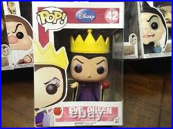 10 Funko Pop Disney Snow White And The Seven Dwarfs Set Plus Evil Queen