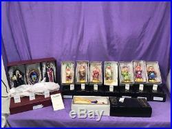 1997 Retired Chris Radko Snow White, 7 Dwarfs, Evil Queen, Wicked Witch, Mirror