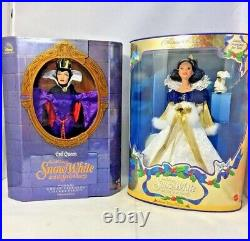 1998 Evil Queen Walt Disney's Great Villians Collection & Snow White Holiday Col
