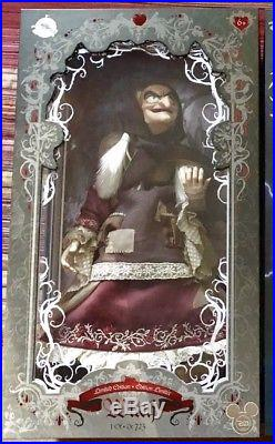 2017 D23 EXPO Disney Store Snow White Evil Queen Old Hag Witch 17 LE 723 Doll