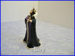 2-PC. WDCC SNOW WHITE EVIL QUEEN Who's the Fairest One Of All & MAGIC MIRROR
