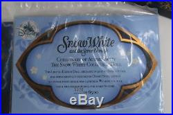 2x BNIB DISNEY STORE Limited Ed. Snow White Evil Queen Collectable 17 Dolls