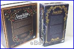 BNIB DISNEY Platinum Snow White Prince Evil Queen Limited Edition 17 Doll
