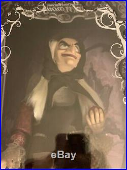 D23 2017 Old Hag Snow white Princess Evil Queen LE Doll Exclusive Disney
