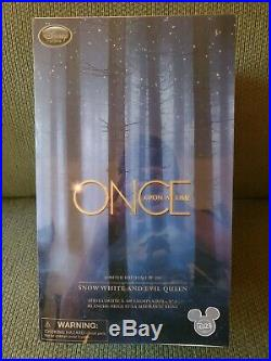 D23 Disney Store Exclusive ONCE UPON A TIME DOLL SET Evil Queen Snow White Dolls
