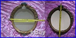 DAMAGE Disney Snow White Evil Queen Glass Magic Mirror Replica 24X19inch big