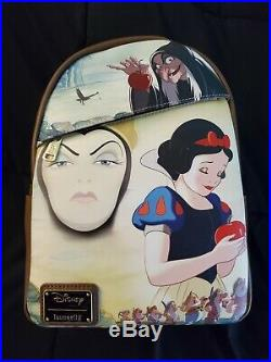 DEC Disney Employee Center Loungefly Snow White Evil Queen Backpack LE600 Poison