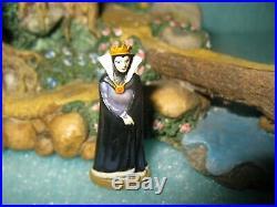 DISNEY GOEBEL OLSZEWSKI Signed PATH IN THE WOODS MIB with Evil Queen Figure