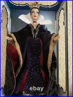 DISNEY STORE SNOW WHITE EVIL QUEEN LIMITED EDITION DOLL 17 Free Shipping