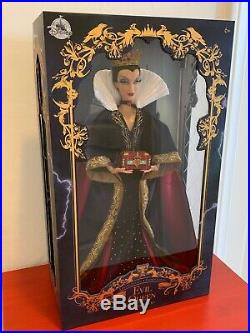 DISNEY STORE THE EVIL QUEEN 17 Limited Edition of 4000 DOLL NIB SNOW WHITE