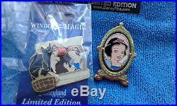 Disney 4 pins snow white Old Hag / Evil Queen limite édition