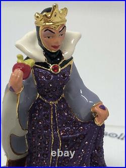 Disney Arribas Brothers Swarovski LE Snow Whites Wicked Queen Figurine