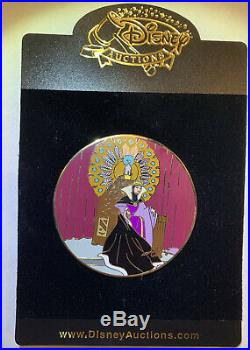 Disney Auctions LE 100 Pin Elisabete Gomes Evil Queen on her Throne HTF