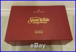 Disney Christopher Radko Snow White Evil Queen Old Hag Witch Mirror Ornament Set