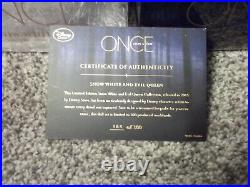 Disney D23 Exclusive SIGNED Once Upon a Time Snow White & Evil Queen Doll Set LE