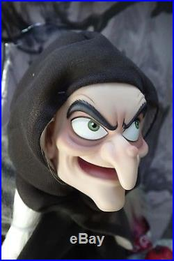 Disney D23 Expo 2017 17 Snow White Evil Queen Old Hag Witch Doll LE 723 #35
