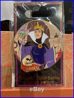 Disney DSF DSSH Dark Tales Villains Evil Queen Snow White LE Pin #123876