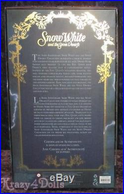 Disney Designer Snow White Movie Limited Edition Evil Queen Doll New