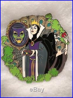 Disney Deviant Masterpiece LE 50 Fantasy Pin Snow White EVIL QUEEN & OLD HAG