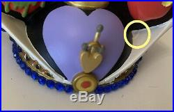 Disney Disneyland Park THE EVIL QUEEN From Snow White Ear Hat Ornament LE Of6500