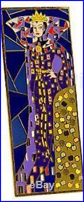 Disney EVIL QUEEN SNOW WHITE Pin 70117 DS Jumbo Art Nouveau Gold Finish LE 300