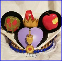 Disney Ear Hat Ornament The Evil Queen Snow White Le 2869/6500 Hand Numbered