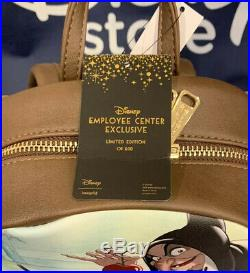 Disney Employee Center DEC Loungefly Snow White Evil Queen Mini Backpack LE 600