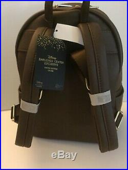 Disney Employee Center Loungefly Snow White 7 Dwarfs Evil Queen Backpack LE 600