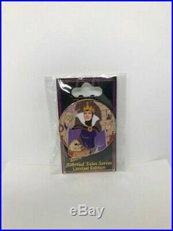 Disney Evil Queen Dark Tales LE 300 Pin Beloved Tales Snow White Seven Dwarfs