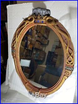 Disney Evil Queen Glass The Magic Mirror 25X19 Snow White replica With Coa Box