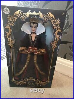 Disney Evil Queen Limited Edition Doll NIB Snow White