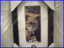 Disney Evil Queen Metamorphosis Framed Pin Set LE100 Event exclusive! RARE