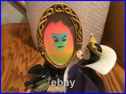 Disney Evil Queen Snow White LE to only 2500 Multi Color Mirror Rare Piece