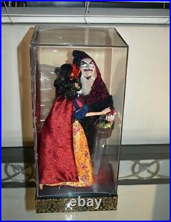 Disney Fairytale Designer Limited Edition Snow White & Evil Queen Hag Doll /#1