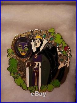 Disney Fantasy Pin Deviant Masterpiece Pin Snow White EVIL QUEEN & OLD HAG LE 50