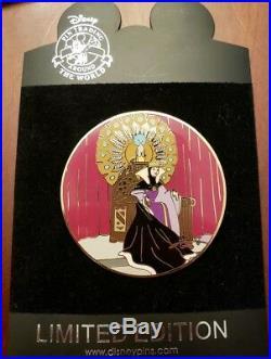 Disney Gomes Evil Queen pin Elisabete Rare Snow White LE 100 Auctions