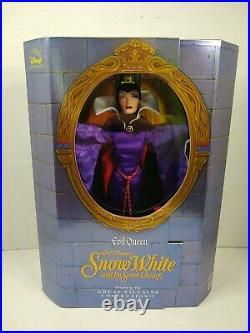 Disney Great Villains Collection Evil Queen Doll Snow White Vintage Mattel 1998
