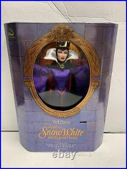 Disney Great Villains Collection Evil Queen Snow White Doll Limited Mattel 1998