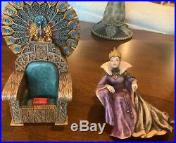 Disney Harmony Kingdom Fairest of Them All Snow White Limited Ed 500 Evil Queen