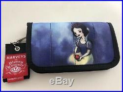 Disney Harveys Good Vs Evil Seatbelt Wallet Snow White & Evil Queen NWOT
