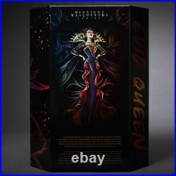 Disney Midnight Masquerade Villains Evil Queen Designer Doll Le 5000 Snow White