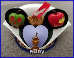 Disney Parks Evil Queen Snow White Ear Hat Ornament LE