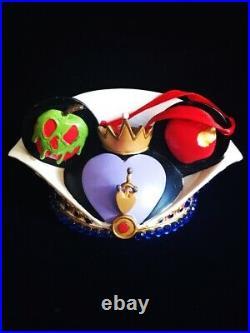 Disney Parks Mickey Ears Christmas Ornament Evil Queen Snow White Costa Alavezos