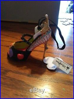 Disney Parks Snow White Evil Queen Runway Shoe Ornament NWT