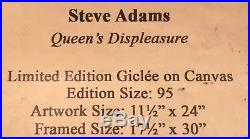 Disney Parks Snow White's Evil Queen Queen's Displeasure LE Giclee Steve Adams