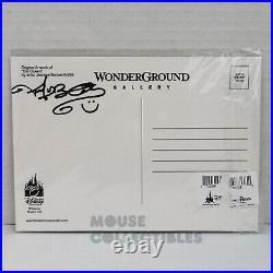 Disney Parks WonderGround Evil Queen Signed Postcard Jasmine Becket Griffith