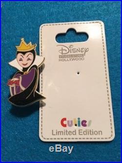 Disney Pin Dsf Dssh Cutie Collection Villain Evil Queen Le 300 Snow White Heart