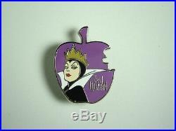 Disney Pin JDS Japan Villain Evil Queen LE 500 Villains Snow White RARE