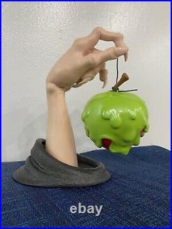 Disney Poison Apple Figure Snow White Evil Queen Halloween Decor Ceramic