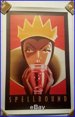 Disney Print Spellbound Evil Queen Snow White 36x24 Discontinued Unopened New